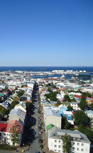 Reykjavik: Många svenskars hem.