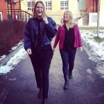 Klara Ollson och Sofia Nilsson